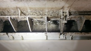 Air Conditioning Cleaning - very dirty
